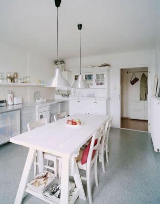 Cocina Rustica Moderna Blanca Affordable Decorar Cocina Moderna