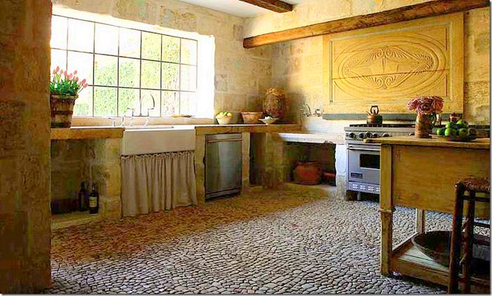 Estilo rustico casas en rustico europeo Pisos ceramicos rusticos para interiores