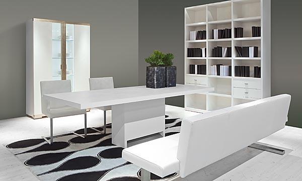 Casas minimalistas y modernas mesas de comedor linea oregon for Comedores minimalistas