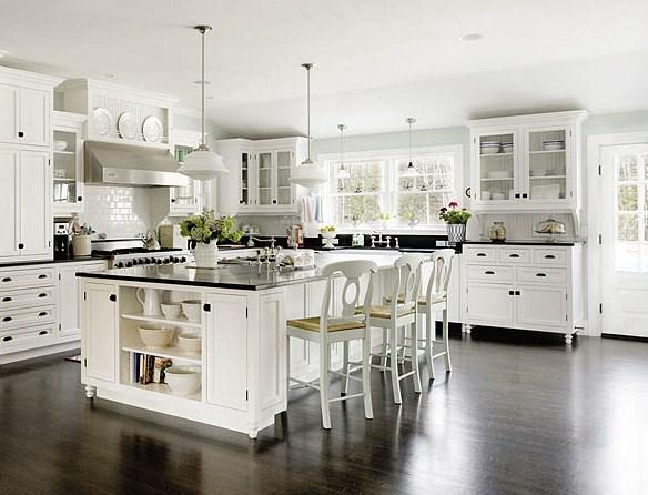 Estilo rustico cocinas rusticas tradicionales - Cocinas blancas rusticas ...
