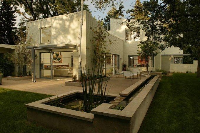 Casas minimalistas y modernas patios actuales today - Fotos de jardines modernos minimalistas ...