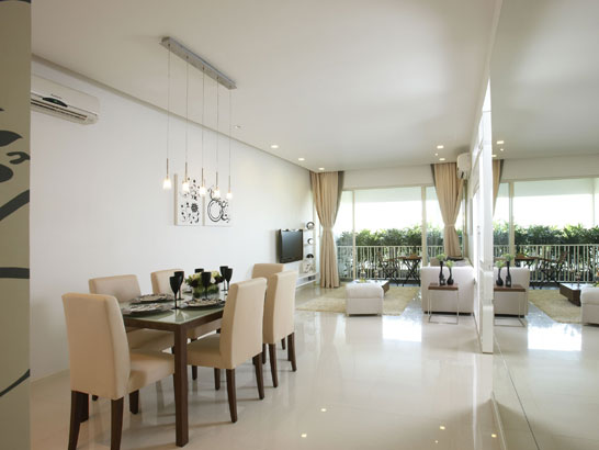 Casas minimalistas y modernas peque os pisos modernos for Decoracion aptos modernos