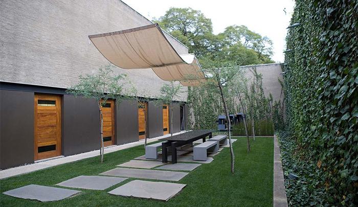 Casas minimalistas y modernas patios de luz for Disenos de patios modernos