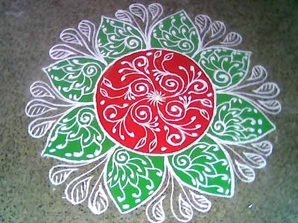 rangoli a traditional artistic expression july 2010