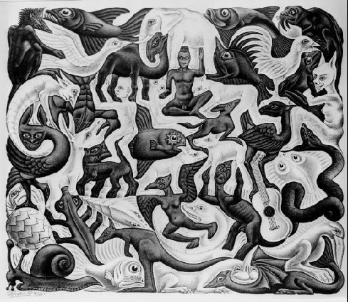 El universo mágico de Escher