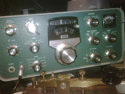 From the 60's the Heathkit SB101 hf (shortwave) valve transciever (180watts of transmitter power)