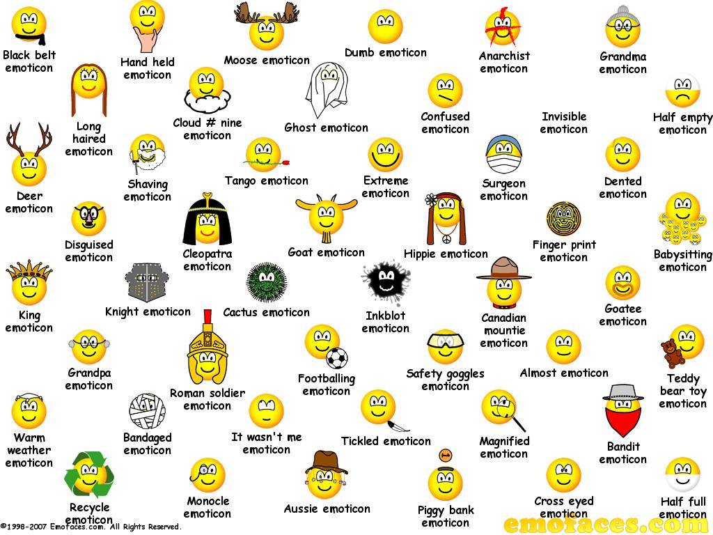 Animated OK Smiley Faces