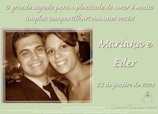Mariana e Eder