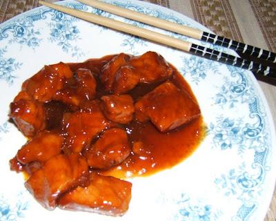 Cerdo al caramelo - Heo Kho (porc au caramel)