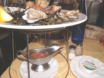 Fruits de mer (mariscos, moluscos), La maison de l'Océan, Brest