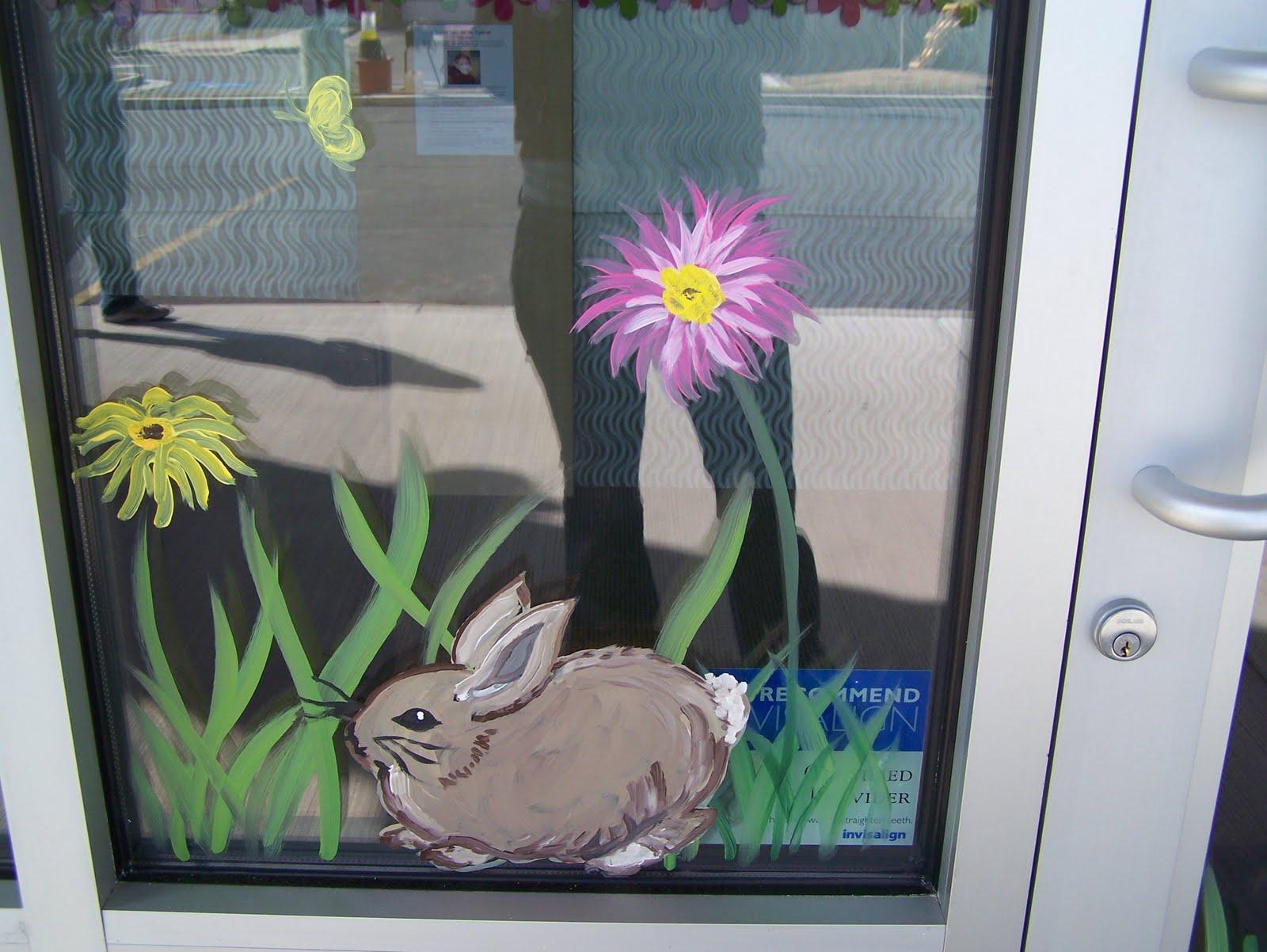 Window Painting Seasons SpringSummer Fall Etc