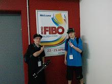 Wir auf der Fibo !!