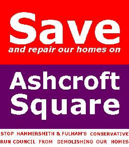 Save And Repair Our Homes On Ashcroft Square