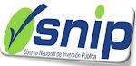 El SNIP el Objeto de este portal