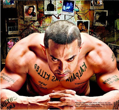 gajini wallpapers. Amir khan new ghajini look