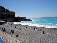 The beach near Castle Hill, Old Nice