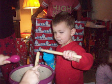 Our little drummer Dominick!
