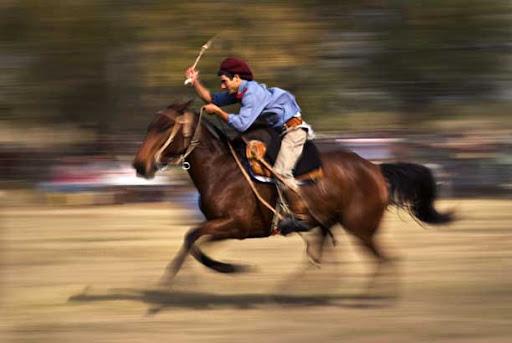 The rider. Photo: Horacio Iannella