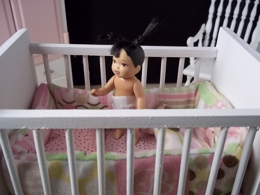 New Baby Crib Is Complete