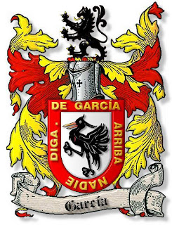 Escudo heráldico del apellido Garcia