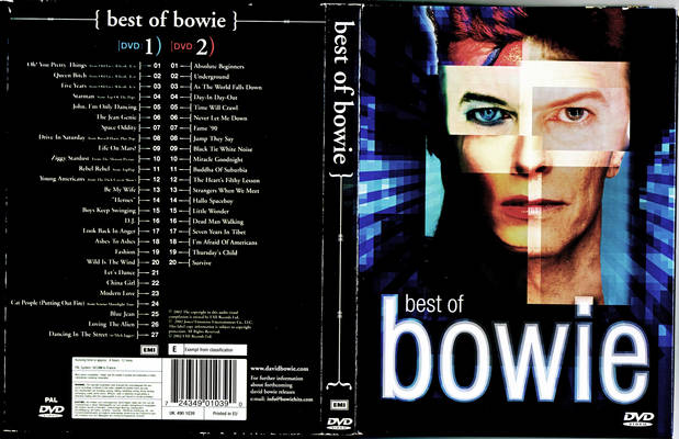 dvd cover back information. The picture on the front cover