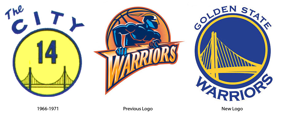 Last week the Golden State Warriors basketball team unveiled a new team logo