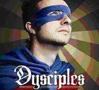 Part of the cover of the book 'Dysciples'