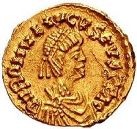 Romulus Augustus, the last Roman Emperor in the West