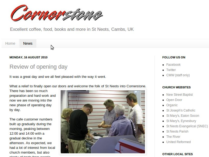 Cornerstone Cafe St Louis Mo