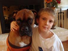 Me and my dog Bud