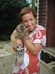 KC and a baby Tigger