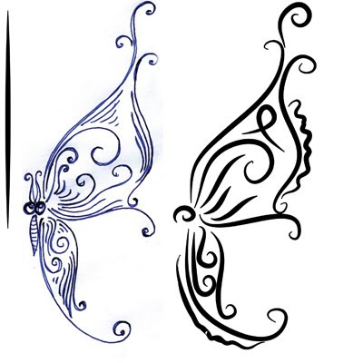Уроки adobe illustrator: бабочка