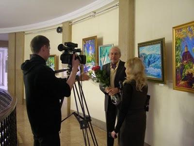 выставка замечательного художника Олега Мелехова