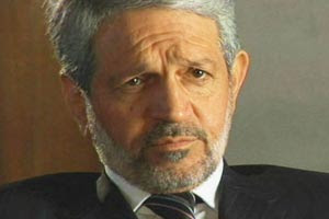 Photo of Bayan Jabr, former Minister of Interior. Jabr now serves as Iraq's Finance Minister.