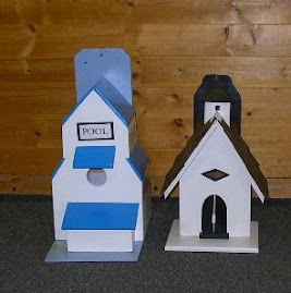 BIRDHOUSES BY CLIFF