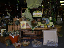 GIFTWARE GALORE--SOME GREAT FOR INDOORS AND SOME GREAT FOR OUTDOORS!
