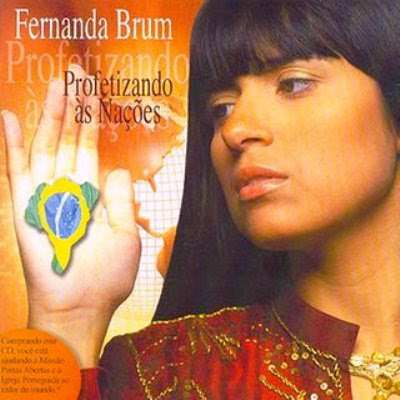 Fernanda Brum - Profetizando as Nações - Playback