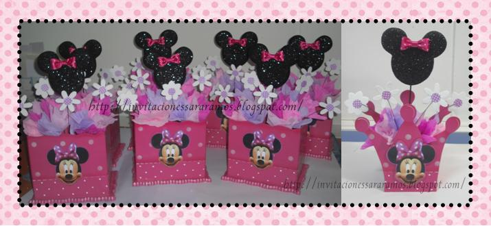 Minnie Mouse en foami - Imagui