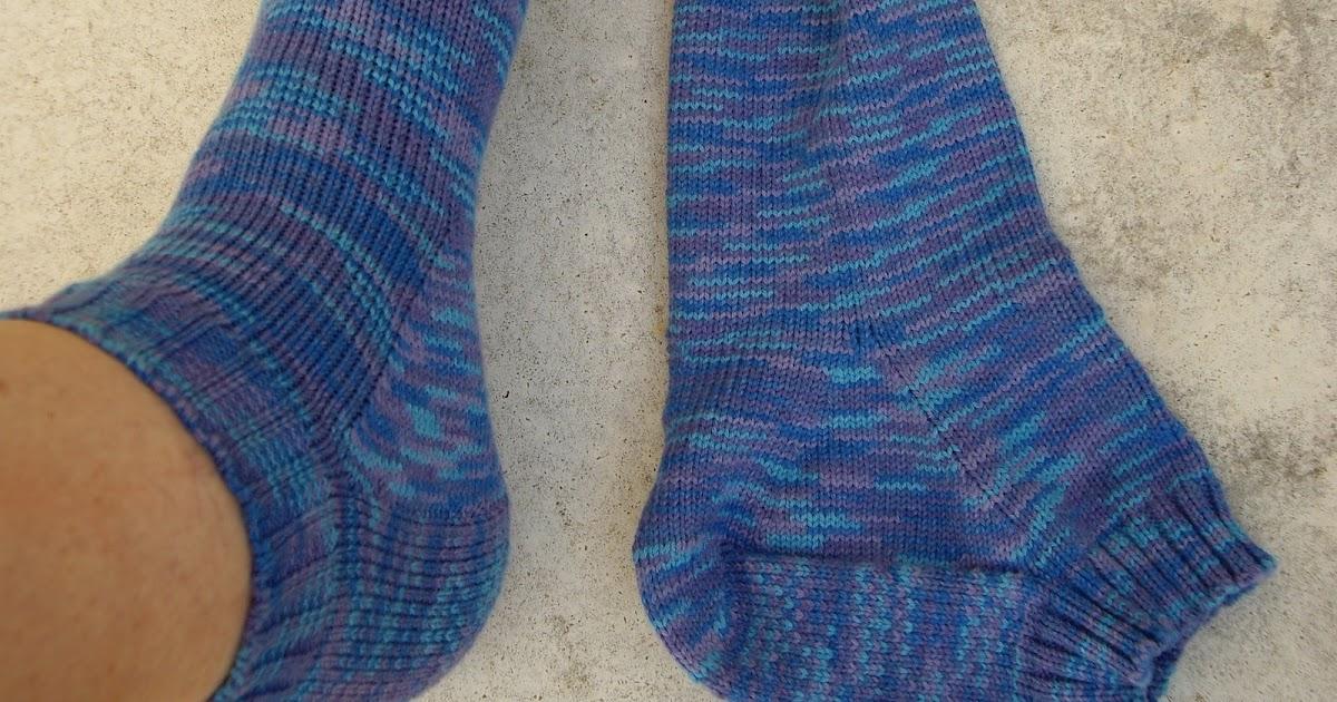 Knitting Pick Up Stitches Heel Flap : Ozlornas Knitting Blog: My Heel Flap Anke socks