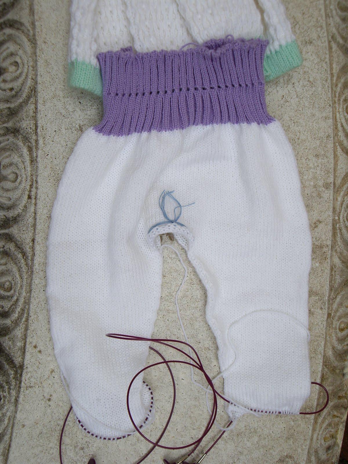 Ozlornas Knitting Blog: Passap Baby Leggings Pattern