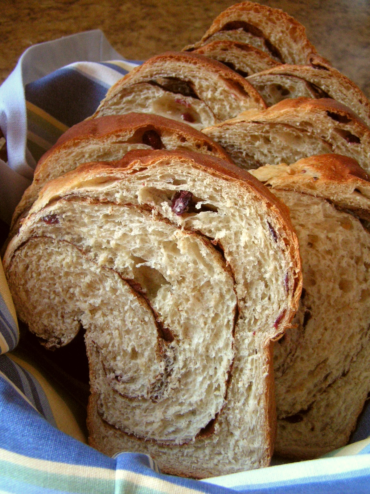 CINNAMON RAISIN BREAD - Butter With a Side of Bread