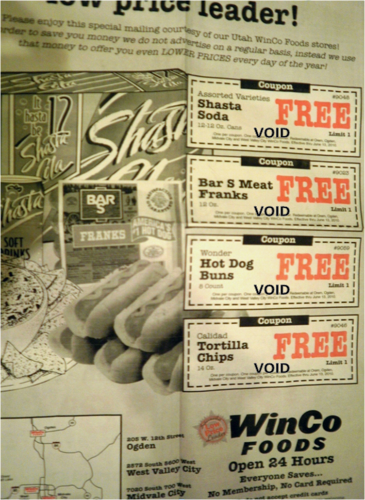 Winco ads coupons