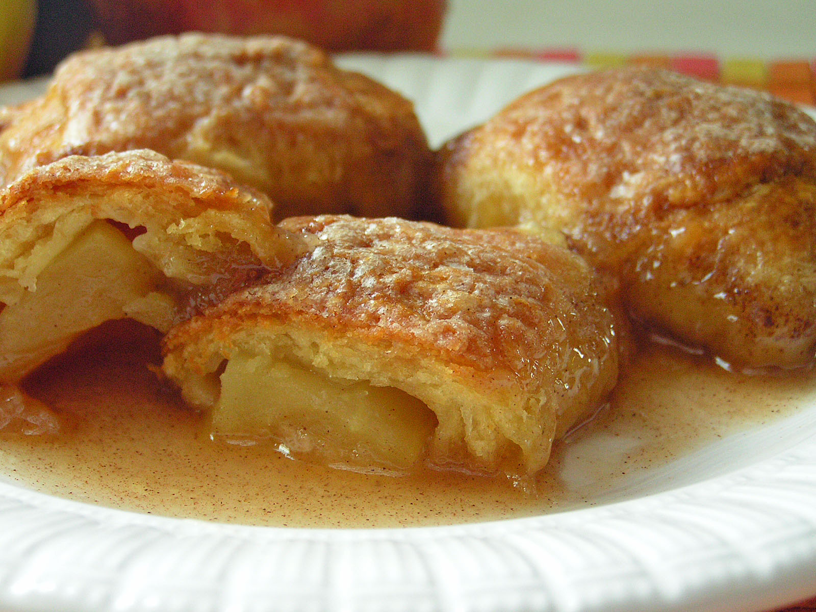 Country Apple Dumplings from Crescent Rolls: Butter with a Side of ...