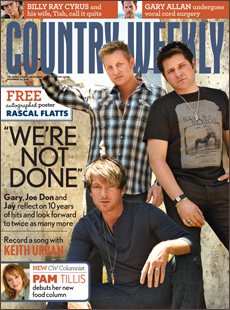 Rascal Flatts On the Cover of Country Weekly