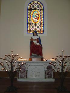 Virgen de la Leche en la Iglesia del Carmen de Ñuñoa