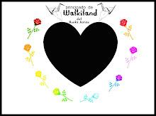 bandera del principado de Walkiland de Nunca Jamas