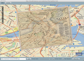 Thunderhead Explorer Ground Overlays On Maps