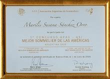 Concurso Mejor Sommelier de las Américas