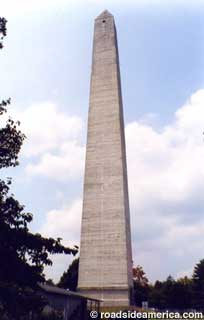 The Jefferson Davis Monument