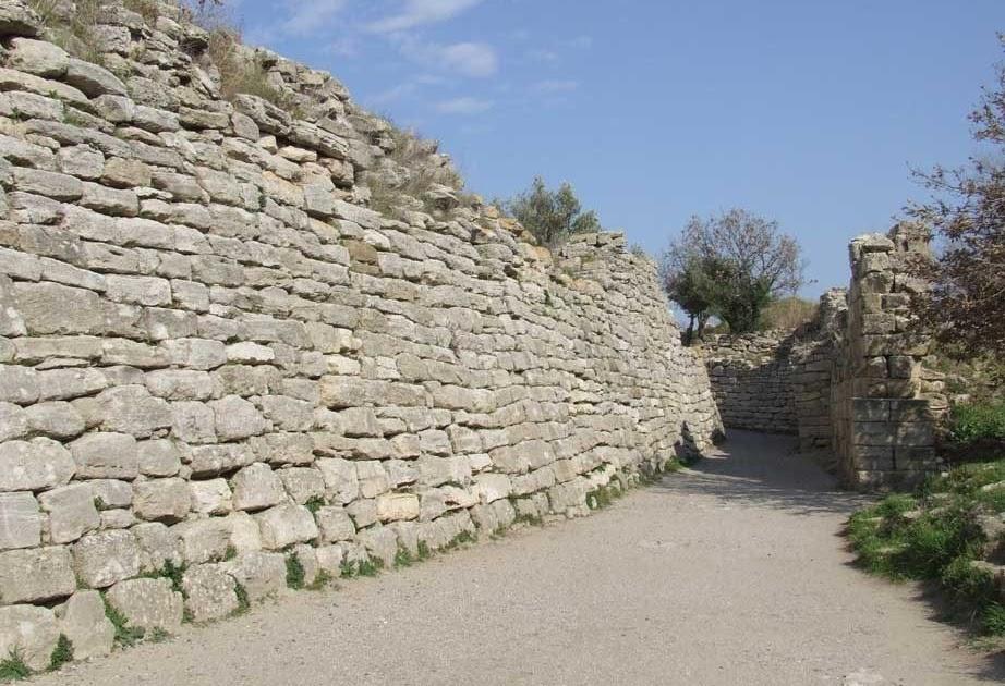 Evoluci n de la arquitectura griega arquitectura militar for Arquitectura militar